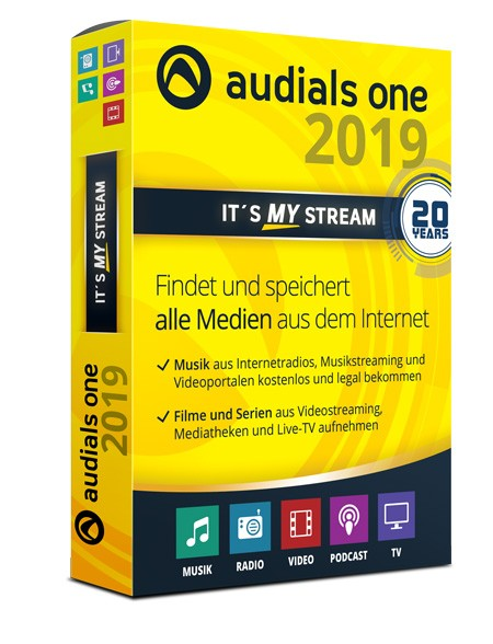 Audials One 2019 - ESD