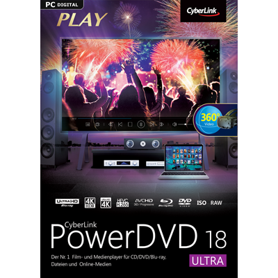 CyberLink PowerDVD 18 Ultra - ESD