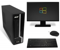 Acer Veriton X4620G Desktop Komplettsystem PC Computer - Intel Core i3-3220 2x 3,3 GHz
