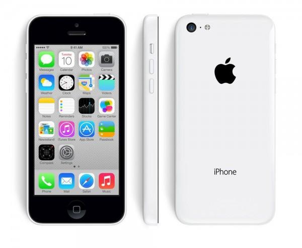 Apple iPhone 5c - 8 GB LTE / 4G - 4 Zoll Smartphone - weiß