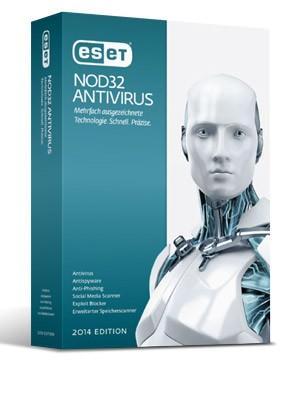 ESET NOD32 Antivirus - 3 PC / 1 Jahr ESD