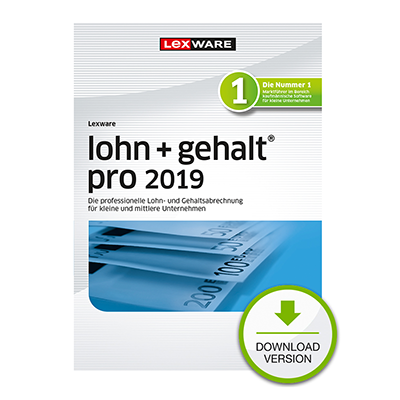 Lexware lohn+gehalt pro 2019 - ESD