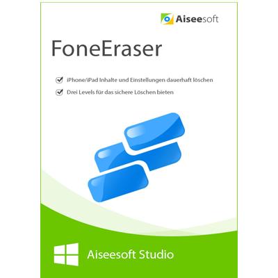 FoneEraser - iPhone data eraser - Lebenslange Lizenz - ESD