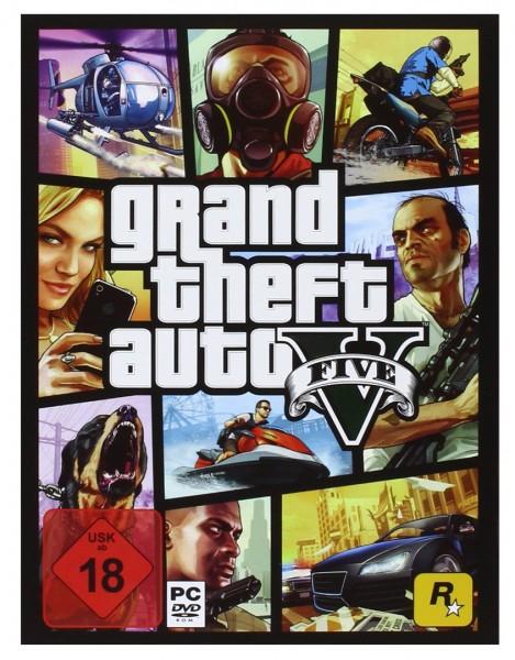 GTA V - Grand Theft Auto 5 inkl. Original Verpackung PC