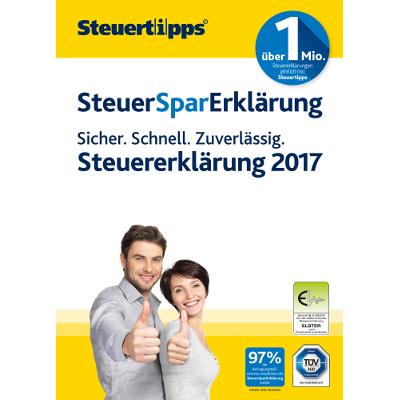 SteuerSparErklärung 2018 (für Steuerjahr 2017) - ESD