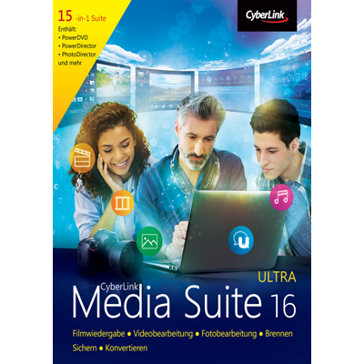 CyberLink Media Suite 16 Ultra - ESD