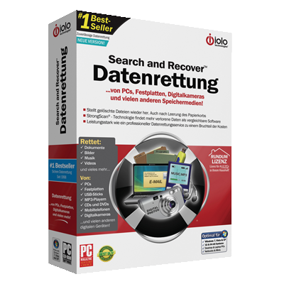Search & Recover - Datenrettung - ESD