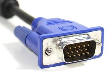 S-VGA zu S-VGA Kabel 0,7 m blau