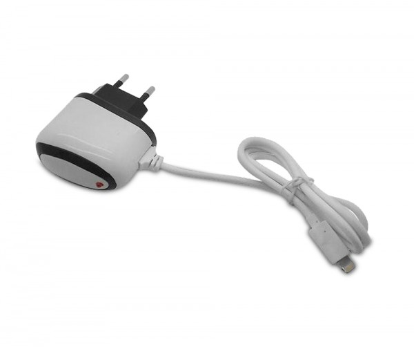 Euro AC Ladegerät mit 8-Pin Lightning Anschluss - für iPhone 5 / 6 / 7 / 8 / X / XS Max / XR / 11Pro