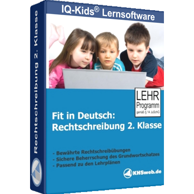 Fit in Deutsch Rechtschreibung 2. Klasse - ESD