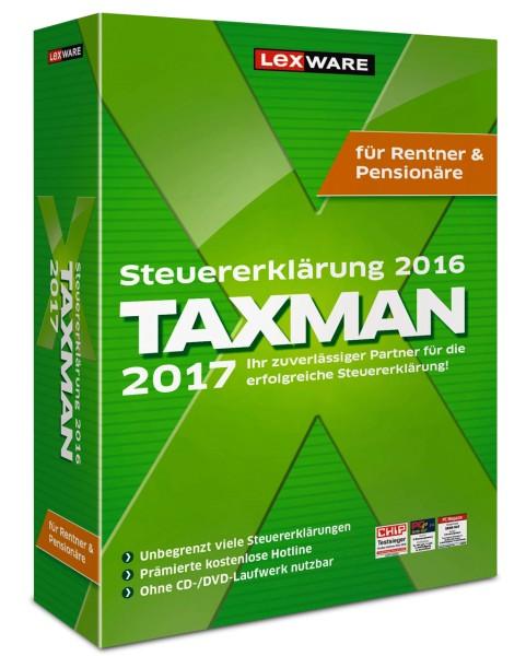 Lexware Taxman 2017 - Für Rentner und Pensionäre