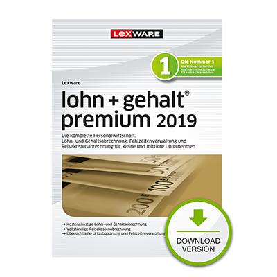 Lexware lohn+gehalt premium 2019 - ESD