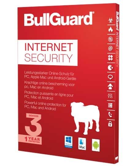 BullGuard Internet Security 2020 – 3 User / 1 Jahr PKC