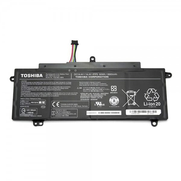 Original Toshiba Akku Batterie PA5149U-1BRS - Li-On 3860mAh - 4 Zellen