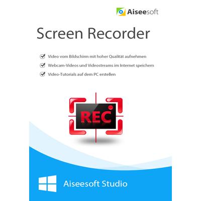 Aiseesoft Screen Recorder - lebenslange Lizenz - ESD