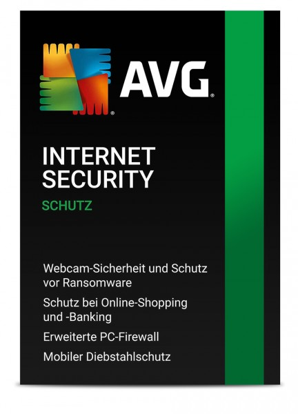 AVG Internet Security 2021 - 1 PC / 1 Jahr - ESD