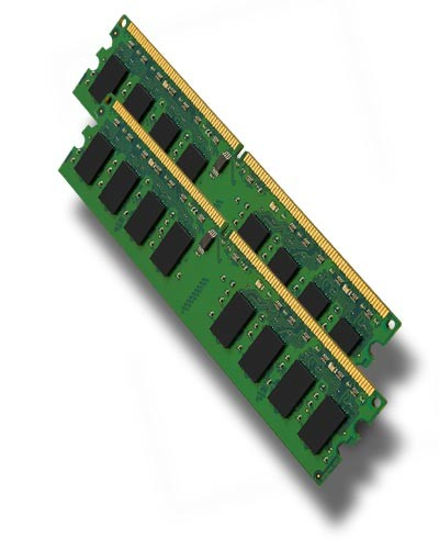 PC Arbeitsspeicher - 2x 512MB DDR2 - PC2-4200 533 MHz - nach Lagerbestand