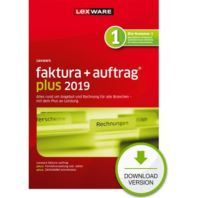 Lexware faktura+auftrag plus 2019 - ESD