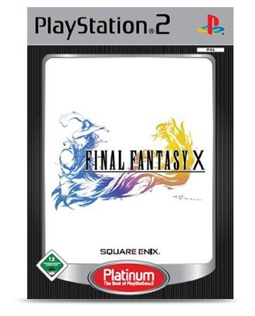 Final Fantasy X Platinum - PS2