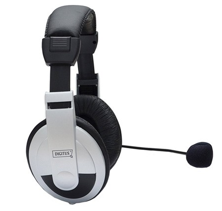 Digitus DA-12201 Stereo Multimedia Headset