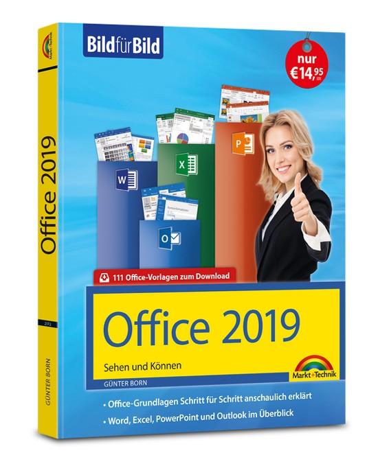 Office 2019 – Bild für Bild Sehen und Können