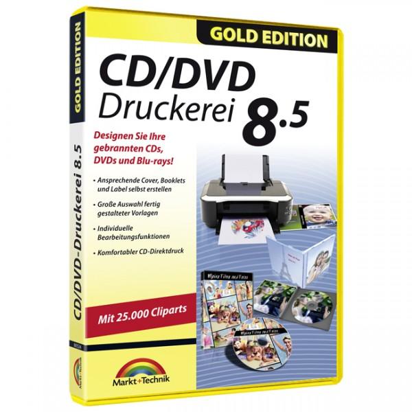 CD/DVD Druckerei 8.5