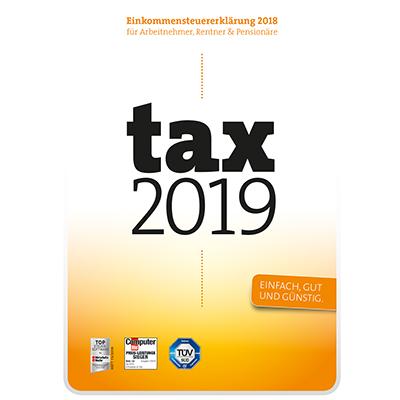 Tax 2019 (für Steuerjahr 2018) - ESD