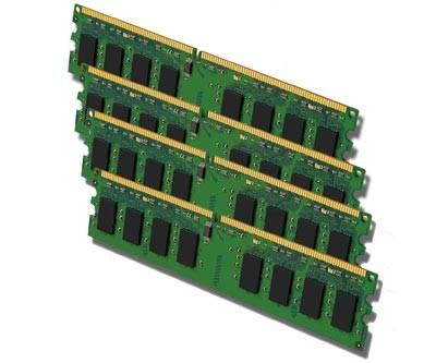 PC Arbeitsspeicher - 4x 1GB DDR2 - PC2-6400 800 MHz - nach Lagerbestand