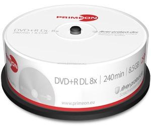 PrimeOn - DVD+R Double Layer Rohlinge - 8,5GB