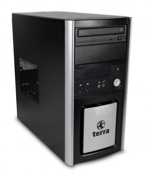 Terra Business 6100 Silent Tower PC Computer - Intel Core i5-3470 4x 3,2 GHz DVD-Brenner