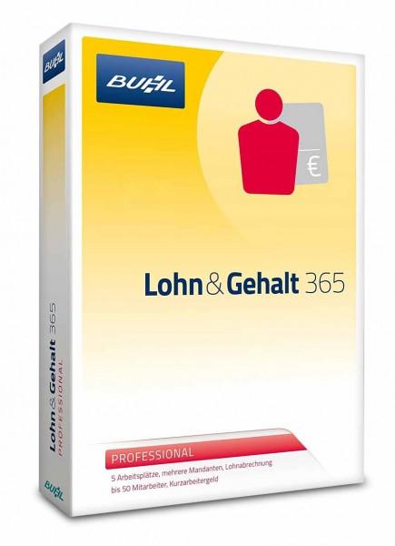 WISO Lohn & Gehalt 365 Professional 2017 - Jahreslizenz