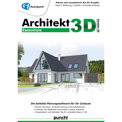 Architekt 3D 20 Essentials - ESD