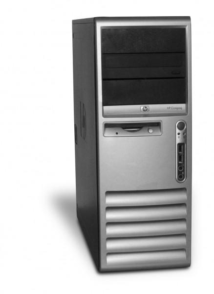 HP Compaq dc7100 Tower PC Computer - Intel Pentium 4 CPU - 3 GHz 512 MB DDR1 DVD-Brenner