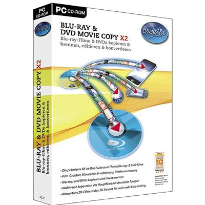 Creetix Blu-ray und DVD Copy X2 - ESD