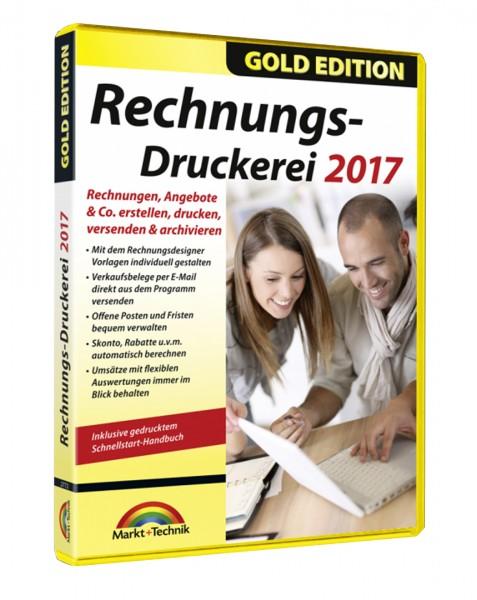 Rechnungsdruckerei 2017 - Gold Edition