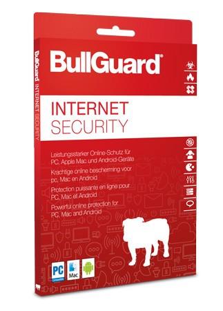 BullGuard Internet Security 2019 / 2020 - 3 User / 2 Jahre - ESD