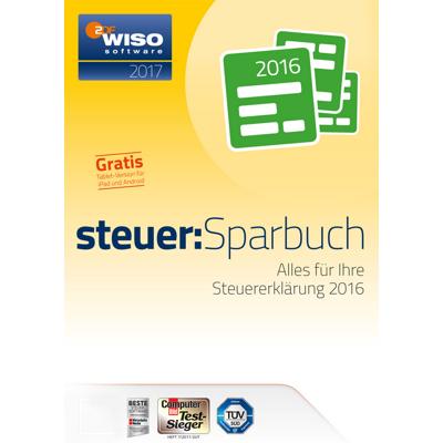 WISO steuer:Sparbuch 2017 (für Steuerjahr 2016) - ESD