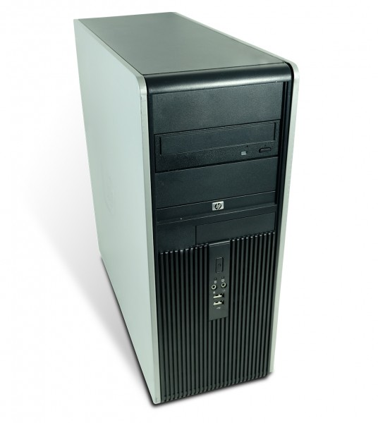 HP Compaq DC 5700 Tower PC Computer - Intel Core 2 Duo-E6300 2x 1,86 GHz