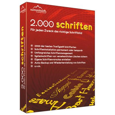 2.000 Schriften - ESD