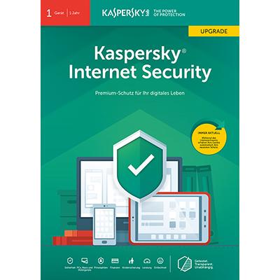 Kaspersky Internet Security (2019) Upgrade - 1 Gerät / 12 Monate - ESD