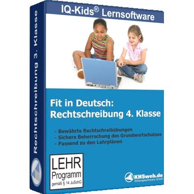 Fit in Deutsch Rechtschreibung 4. Klasse - ESD