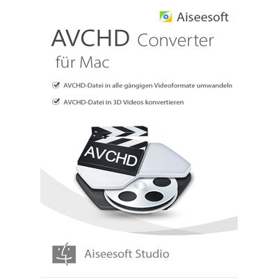 Aiseesoft avchd video converter MAC - Lebenslange Lizenz - ESD