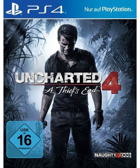 Uncharted 4 - A Thiefs End - PS4