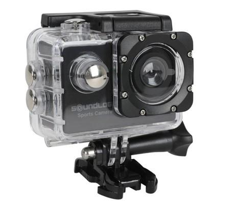 Soundlogic Action Pro 1080P Ultra HD Sports Camera - Full HD Action Cam