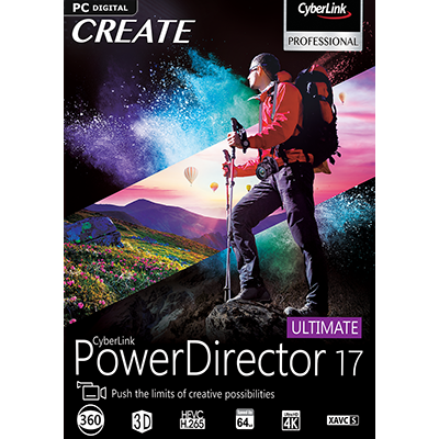 PowerDirector 17 Ultimate - ESD