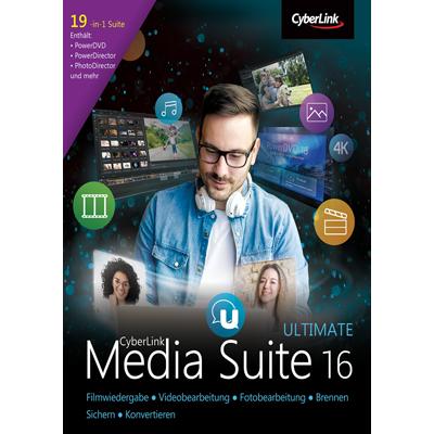 CyberLink Media Suite 16 Ultimate - ESD