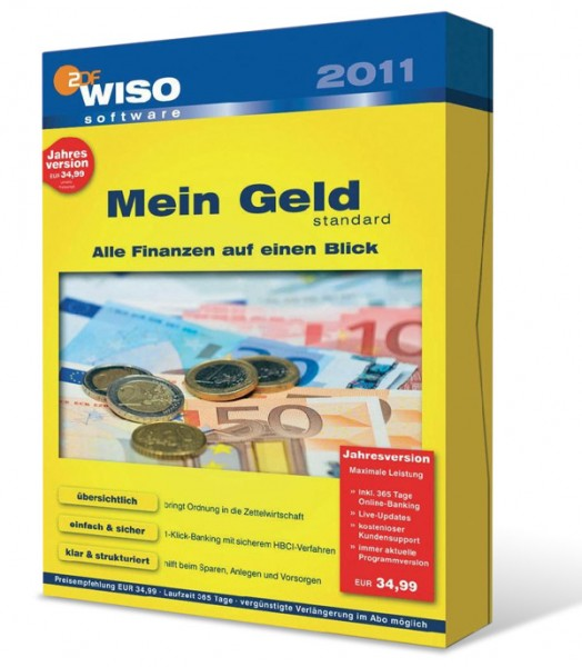 WISO Mein Geld 2011 Standard 365 Tage