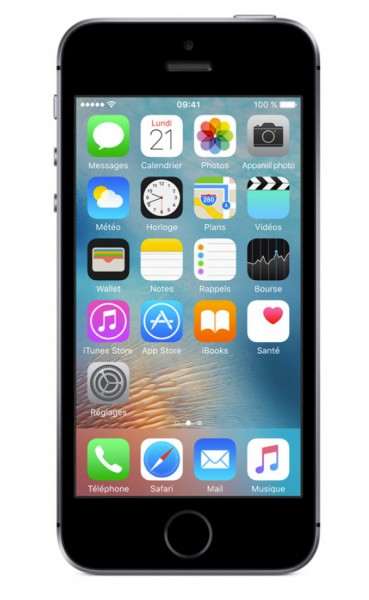Apple iPhone SE - 32 GB LTE / 4G - 4 Zoll Smartphone - Space Grey