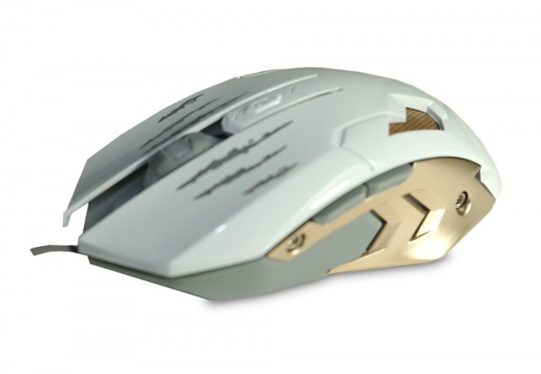 Souris AK894 Gamer-Maus - Weiss