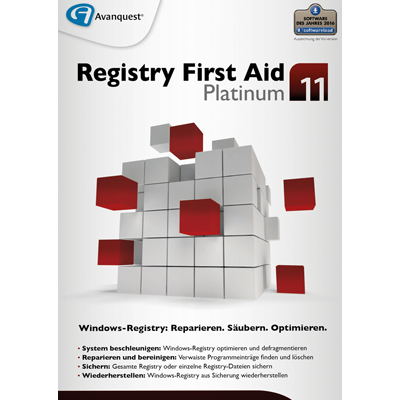 Registry First Aid 11 Platinum - ESD